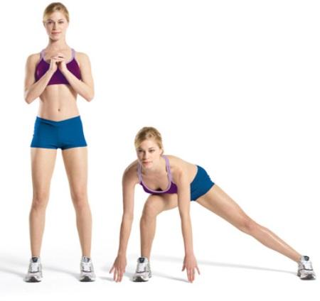 Выполняйте все упражнения в точности!