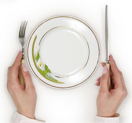Горох на тарелки!
