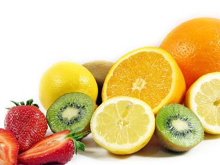 Нарезные фрукты