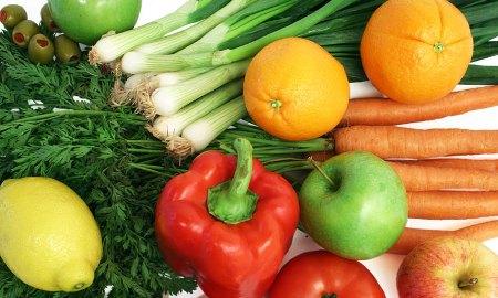 Овощи и фрукты помогут вам в похудении!